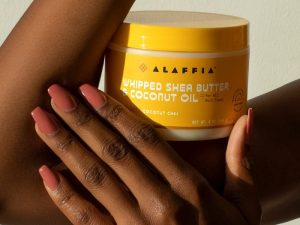 Fair trade skincare products that give back to the communities in West Africa that make them